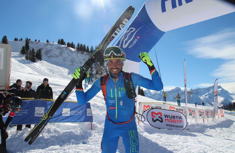 World Championship Villars: Gold for Antonioli!