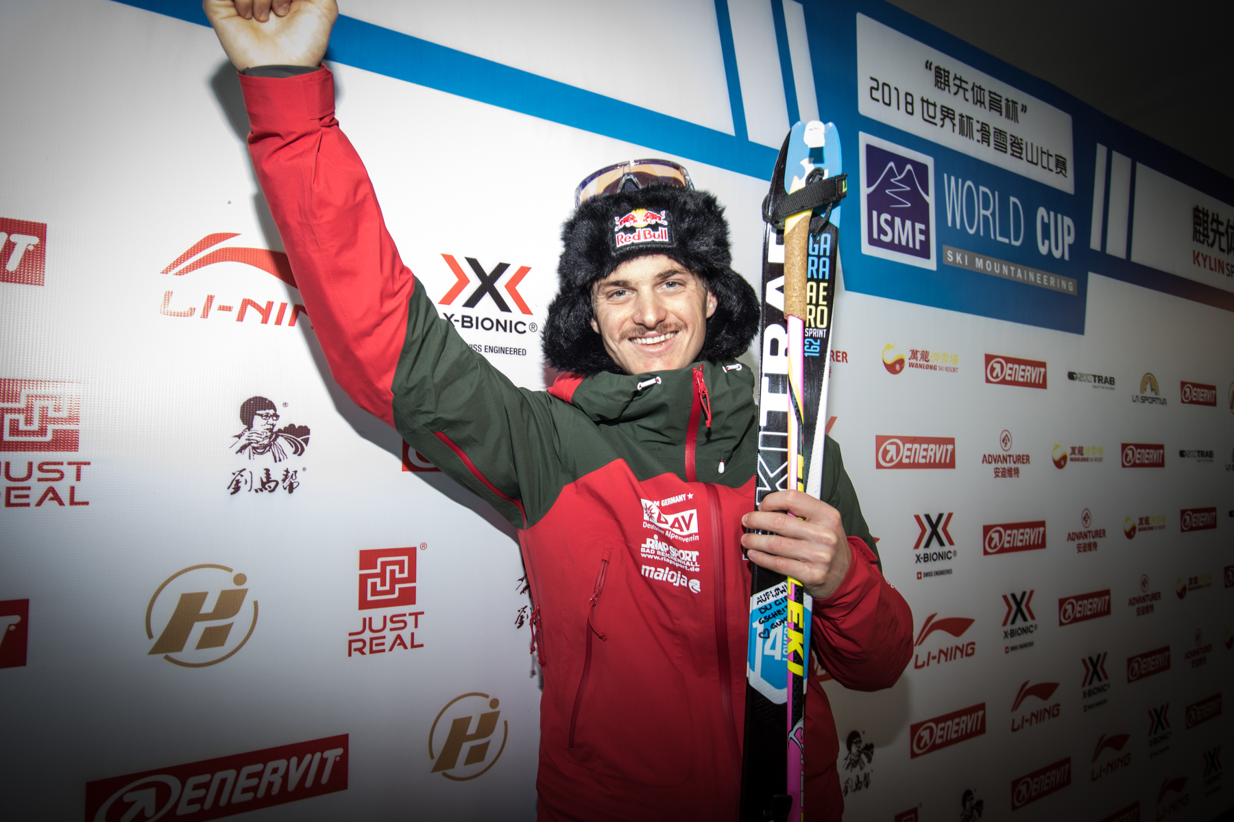 ISMF WANLONG VK: Toni Palzer pushes and finds the first gold medal!