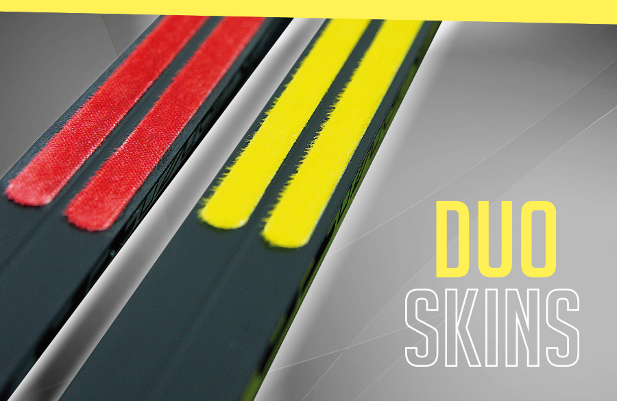 New duo skin technology for cross-country skis from Ski Trab