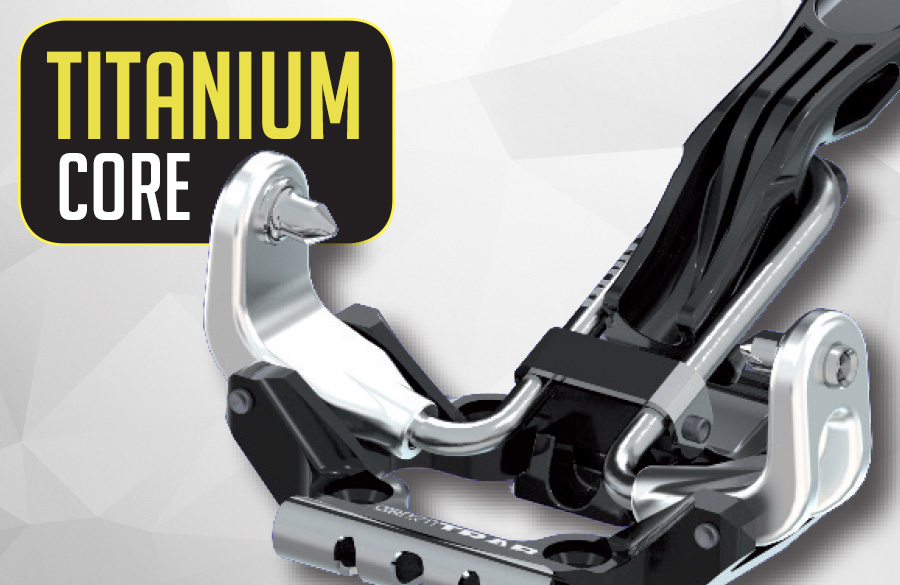TITANIUM core: lightweight - elasticity and functionality!