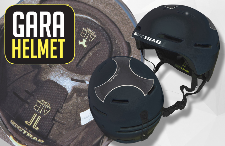 New GARA HELMET with DOUBLE CERTIFICATION: light and protective!
