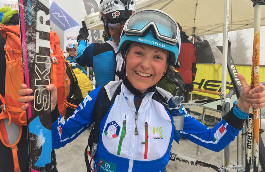 Skimountaineering World Championships, 5 Ski Trab's medals in the individual race