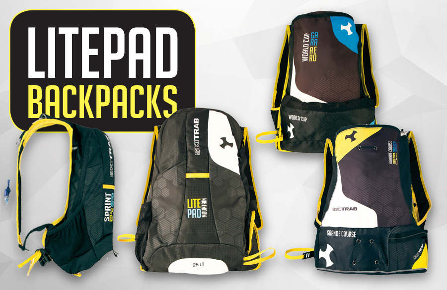 The new Race and Grandtour BACKPACKS line