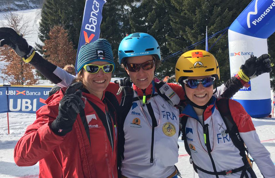 Skimountaineering Wolrd Championships, Trab athtes at best in the relay race