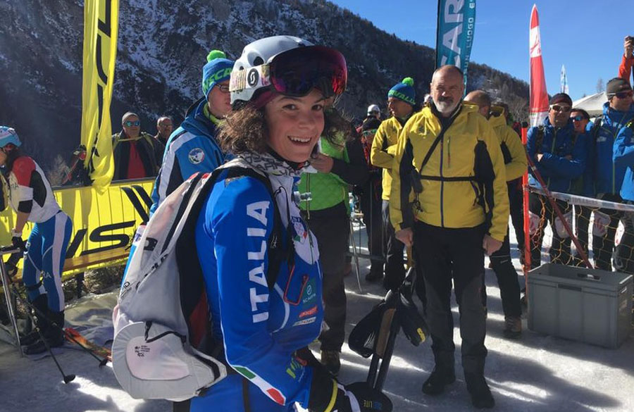 Skimountaineering World Championships, domain for the young SkiTrab