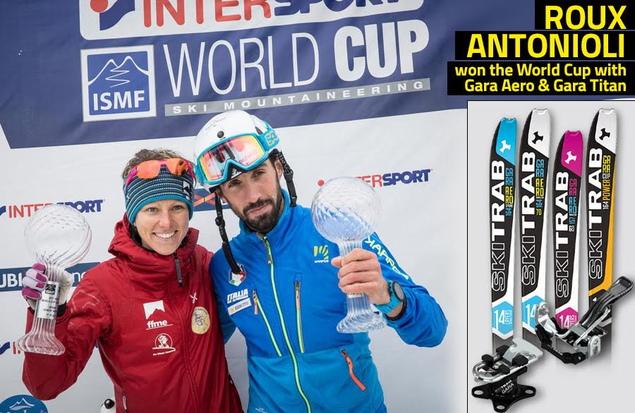 Ski Mountaineering Overall World Cup: victory for Roberto Antonioli and Laetitia Roux